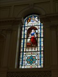 Image for Queen Victoria Leadlight Window - Parliament House - 1865 - Brisbane - QLD - Australia