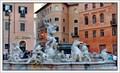 Image for Fountain of Neptune (Fontana di Nettuno), Piazza Navona, Rome, Italy