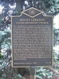 Image for Mount Lebanon United Methodist Church (NC-132) - Wilmington, DE
