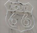 Image for Route 66 Theatre - Neon - Webb City, Missouri, USA.