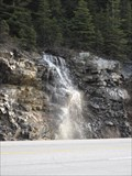 Image for Kicking Horse River Pass - TransCanada Highway Road Cut Falls - Field, British Columbia