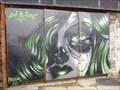 Image for Girls Face - Graffiti - Port Talbot, Wales.