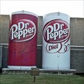 Image for Giant Dr. Pepper Cans - Irving, TX