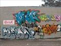 Image for @Risk art graffiti - Salinas, California