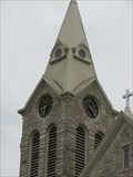 Image for St. Patrick's Catholic Church Clock- Cairo, Illinois