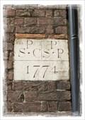 Image for Parish Boundary Stone - High Street, Sandwich, Kent, UK.