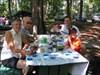 Un beau picnic au chutes!