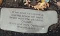 Image for Ghandi - Story Garden - Binghamton, NY