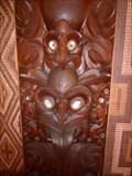Image for Te Whare Runanga (Meeting House) - Waitangi, Northland, New Zealand