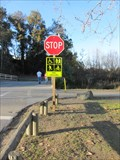 Image for Solar Powered Stop Sign - Los Gatos, CA
