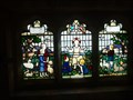 Image for Porch Stained Glass Window -St Edward's Church - Cheddleton, Staffordshire.