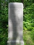 Image for New York / Pennsylvania 1884 SW Boundary Marker Offset 100ft. N