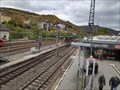 Image for Trainspotting Bridge Hauptbahnhof Bingen, RP, Germany