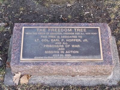 Pow Mia Tree Stockbridge Michigan Vietnam Pow Mia Monuments On Waymarking Com