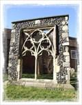 Image for St Thomas's Hospital - 14th Century Window Remnant - Sandwich Kent UK