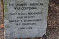 Image for Fayetteville Independent Light Infantry Spanish American War Centennial
