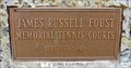 Image for James Russell Foust Memorial Tennis Courts - Plains, MT