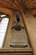 Image for ADM Arthur Phillip, RN -- Bath Abbey, Bath, Somerset, UK