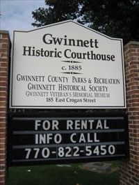 Historic Gwinnett County Courthouse - Lawrenceville, GA