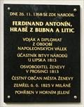 Image for Ferdinand, Graf Bubna von Littitz - Zamrsk, Czech Republic