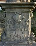 Image for 1728  - Statue pedestal - Manetin, Czech Republic