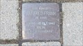 Image for MANFRED FRANK  -  Stolperstein, Essen, Germany