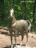 Image for Unicorn Statue, Julia's Garden, WWI Memorial Park and Zoo - North Attleborough, MA