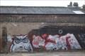 Image for Caroline Street Graffiti - Longton, Stoke-on-Trent, Staffordshire.