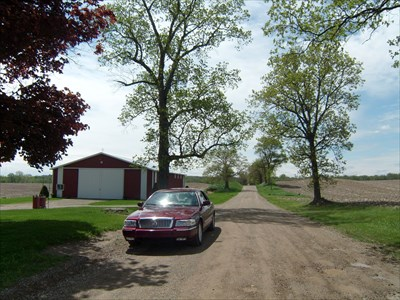 Lord Abercrombie visited James Woodward Farm - Clinton Township, Michigan