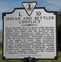 Image for Indian and Settler Conflict