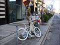 Image for (LEGACY)Darcy Allan Sheppard Ghost Bike - Toronto, Ontario, Canada
