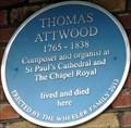 Image for Thomas Attwood - Cheyne Walk, London, UK