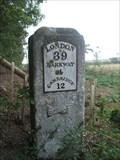 Image for Milestone - B1368, Flint Cross, Herts, UK