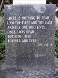 Image for Revelation 1:17-18 - Calvary Cemetery - Erie, PA