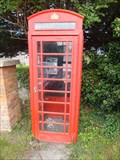 Image for Red Telephone Box - Ivychurch, Kent, UK