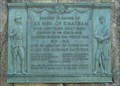 Image for WWI Memorial Bronze Relief - Chatham, MA