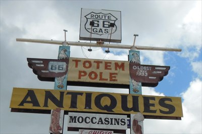 Historic Route 66 - Totem Pole Trading Post