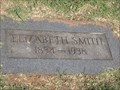 Image for 104 -  Elizabeth Smith - Rose Hill Burial Park - OKC, OK