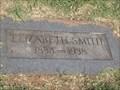 Image for 104 -  Elizabeth Smith - Rose Hill Burial Park - OKC, OK