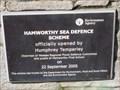 Image for Hamworthy Sea Defence Plaque - Lulworth Avenue, Hamworthy, Dorset, UK