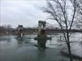 Image for Le pont suspendu de Chasse-sur-Rhône - France