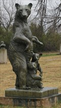 Image for Bear with her Cubs - National Hall of Fame for Famous American Indians - Anadarko, Oklahoma
