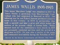 "Image for ""JAMES WALLIS   1806-1893""  -- Fenelon Falls, Ontario"