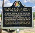 Image for Jackson's Death Led to 'Bloody Sunday' March - Marion, AL