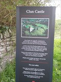Image for Clun Castle