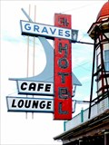 Image for Graves Hotel Sign - Harlowton, MT