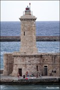 Image for Lighthouse at Diga Curvilinea South End (Livorno, Italy)
