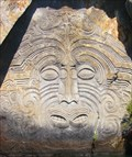Image for Maori Rock Carvings, Mine Bay. Lake Taupo. New Zealand.