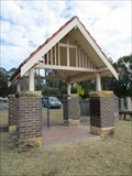 Image for The Old Catholic Cemetery Lychgate - Nowra, NSW