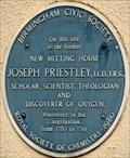 Image for Joseph Priestley - Moor Street Queensway, Birmingham, UK